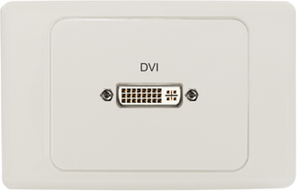 DVI Wall Plates