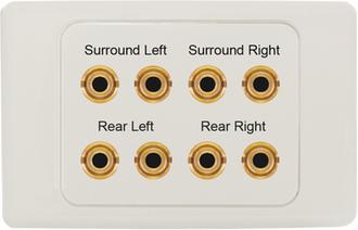 Speaker Wall Plates